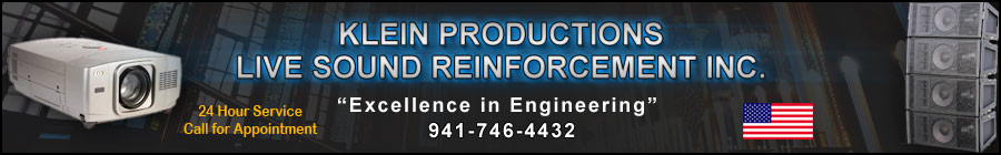 Header - Live Sound Audio Visual Equipment Rental